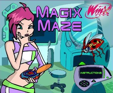 Игры винкс winx магия мазе magix maze
