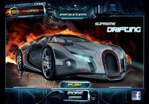 Supreme drifting. Flash игры