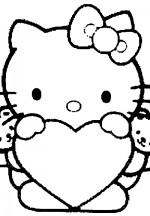 С сердечком хеллоу китти hello kitty