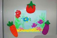 Магниты на холодильник: Фрукты и Овощи