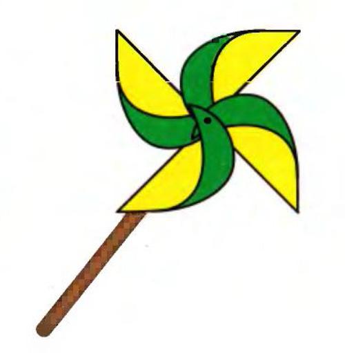 Картинка для детей вертушка