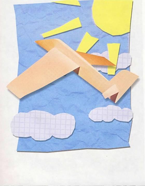 Поделка из бумаги своими руками самолет