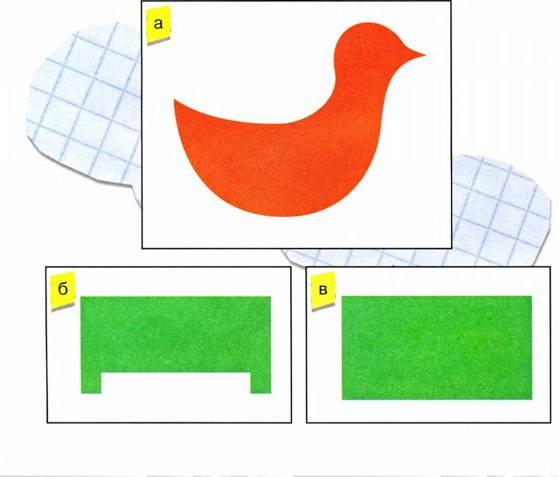 Птичка - Поделки из бумаги для детей