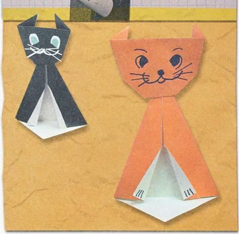 Человечек - Поделки из бумаги для детей