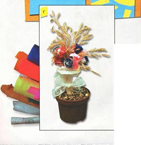 Цветочное дерево - поделки своими руками