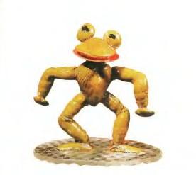 Лягушонок - Поделки из ракушек